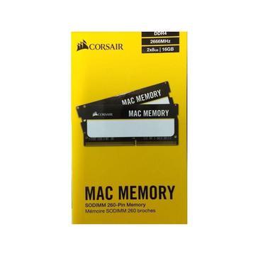 Memória Mac Corsair, 16GB, 2x8GB, DDR4, 2666MHz - CMSA16GX4M2A2666C18 2784