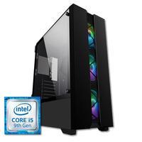 PC Gamer Intel i5 9400F, Geforce GTX 1050 Ti, 4GB RAM 8GB DDR4 HD 1TB 500W, 80 Plus Skill Gaming Prodigy