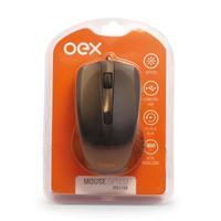 Mouse com Fio Oex, 1000dpi - MS100