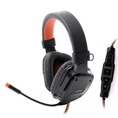 Headset Oex Gamer 7.1 Shield, USB, Preto- HS409