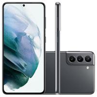 Smartphone Samsung Galaxy S21, 128GB, Octa-Core, Câmera Tripla, Tela 6,2