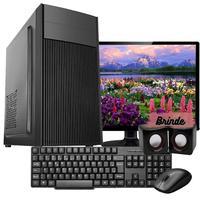 """Computador Completo Work Shop com Processador Intel Core i5-650 3.20GHz, 4GB DDR3, SSD 120GB, Entrada HMI e VGA, Windows 10 com Monitor 18.5"""" + Teclado, Mouse e Caixa de Som"""