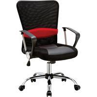 Cadeira Executiva Giratória Pelegrin com Regulagem de Altura a Gás, Preto - Pel-502