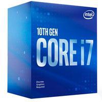 Processador Intel Core I7-10700F, 10ª Geração, Cache 16MB, 2.9GHz (4.8GHz Turbo), LGA1200 - BX8070110700F