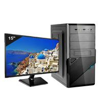 "Computador ICC Intel Core I3 3.20Ghz, 8GB, HD 1TB, Monitor 15"" - IV2382SM15"