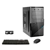 Computador Desktop ICC Vision, Intel Core I3 3.20 ghz, 8GB, HD 240GB SSD, Kit Multimídia, HDMI FULLHD, Windows 10 - IV2387KW