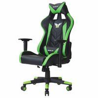 Cadeira Gamer Escritório Presidente Pro EagleX, Giratória, Reclinável, Braço 3D Flexível e Ajustável, Suporta até 120Kg, Verde