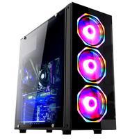 Pc Gamer Fácil, Intel Core I5 9400f (nona Geração), 8gb Ddr4, Geforce Gtx 1050ti 4gb, Ssd 120gb, Fonte 500w