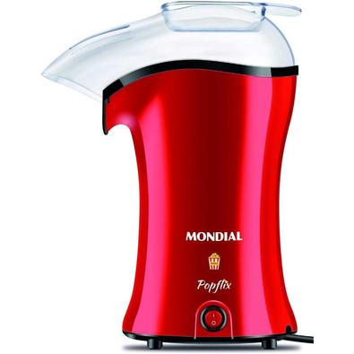 Pipoqueira Elétrica Mondial Popflix, 1200W, 110V, Vermelha - PP-03