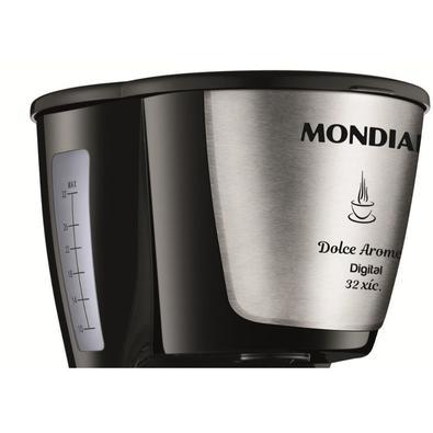 Cafeteira Elétrica Digital Mondial Dolce Arome, 1.2L, 800W, 110V, Inox - C-31DG-32X