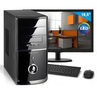 "Computador Smart Pc Intel Core I3, 8GB, HD 1TB + Monitor 18.5"" - 80195"