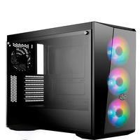 Computador PC Gamer Fácil Intel Core I7 10700F Décima Geração, 8GB DDR4, GTX 1050TI 4GB, HD 500GB, Cooler Master