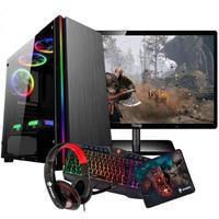 "Computador Gamer Intel Core i5, 8GB, Wifi, Radeon 2GB, Monitor 19"""