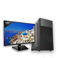 Computador Completo Icc Intel Core I3 4gb Hd 2tb Monitor 19