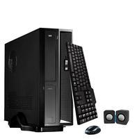 Mini Computador Icc Sl1881km15 Intel Dual Core 8gb HD 500gb Kit Multimídia Monitor 15