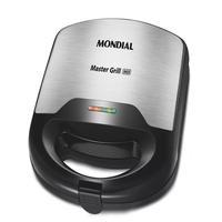 Sanduicheira Mondial  Master Grill Inox, 220V - S-20