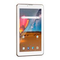 "Tablet Multilaser M7, 3G Plus, Dual Chip, Quad Core, 1 GB RAM, Memória 16GB, Tela 7"", Dourado - NB306"