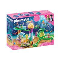 Playmobil, Enseada De Sereias Com Corais E Cúpula Iluminada