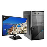 Computador Desktop Icc Iv2547swm19 Intel Core I5  4gb Hd 240gb Ssd Hdmi Monitor Led 19,5 Windows 10