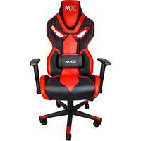 Cadeira Gamer Mx9 Mymax, Giratória, Preto/Vermelho