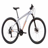 Bicicleta Mtb Caloi 29, Aro 29, Câmbio Shimano, Freio à Disco, 21 Velocidades, Prata