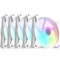 Cooler Para Gabinete Branco Motospeed Hyrax Hcl605w 5 In 1 A-rgb