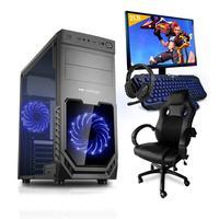 Pc Gamer, Completo, Smart Pc, Smt81294, Intel I5, 8gb, geforce Gtx 1650 4gb, 1tb, Cadeira Gamer