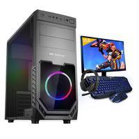 Kit Pc Gamer Smart Pc Smt81288 Intel I5 8gb (geforce Gtx 1650 4gb) 1tb + Monitor 21,5.