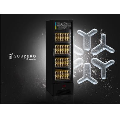 Cervejeira Vertical Metalfrio All Black 287 Litros, 220v, Vn28rh