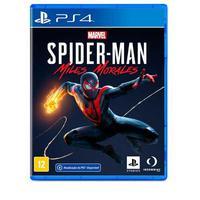 Jogo Marvel S Spider-man: Miles Morales Para Ps4