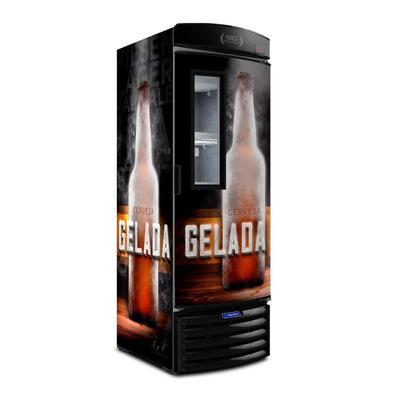 Cervejeira Metalfrio Visa Cooler Porta com Visor 497 Litros VN50F New Cerveja Gelada 127V