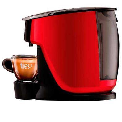 Cafeteira Tres 3corações Touch Vermelha Para Café Espresso Automática - 2003899 - 110v
