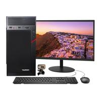 Computador Pc Completo I3, 8GB, HD 500GB, Wi-fi C/ Webcam