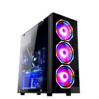 Computador Gamer Fácil Intel Core I5 3470s (terceira Geração) 8gb Gtx 1650 4gb Ssd 240gb Fonte 500w