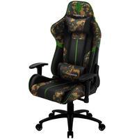 Cadeira Gamer Office Giratória Com Elevação A Gás Bc3 H01 Camuflado Verde Military - Thunderx3