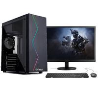 """Computador Gamer Completo Fácil Intel I5 3470s (terceira Geração) 8gb Placa De Vídeo Gt 730 2gb Ssd 240gb Monitor 19"""""""
