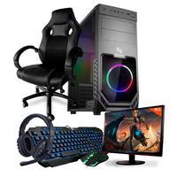 Computador Gamer Completo Neologic Start NLI81833, AMD 3000G, 16GB, Radeon Vega 3 Integrado, HD 1TB + Cadeira Gamer