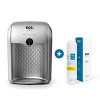 Kit 1 Ano Eos - Purificador De Água Eos Premium Prata Epe01s + Filtro Refil Efp01 Bivolt