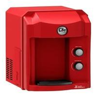 Purificador De Água Alcalina Por Compressor 127v Vermelho