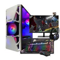 """PC Gamer Completo I5, GTX 1650, 16GB, HD 1TB, Fonte 750W, Monitor 27"""""""