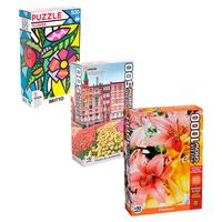 Combo Puzzles Flores