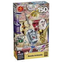 Puzzle 150 peças banda animada