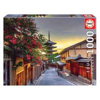 Puzzle 1000 Peças Yasaka Pagoda Japão  - Educa - Importado