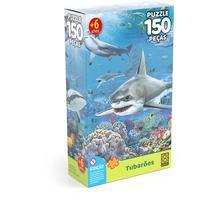 Quebra Cabeça 150 Peças Tubaroes