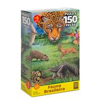 Puzzle 150 Peças Fauna Brasileira