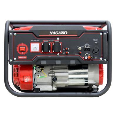 Gerador De Energia A Gasolina 3,6kva Monofásico Partida Manual 110-220v - Nagano