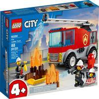 Lego City - Caminhão Dos Bombeiros Com Escada - 60280