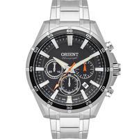 Relógio Masculino Prata Orient Solar - Mbssc218 G1sx - Unico