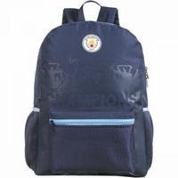 Mochila Escolar Manchester City Dmw 11669