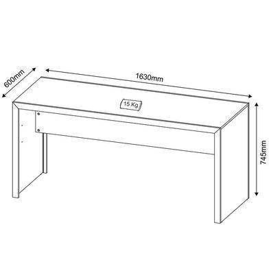 Mesa Para Computador Me4109 – Tecno Mobili - Nogal